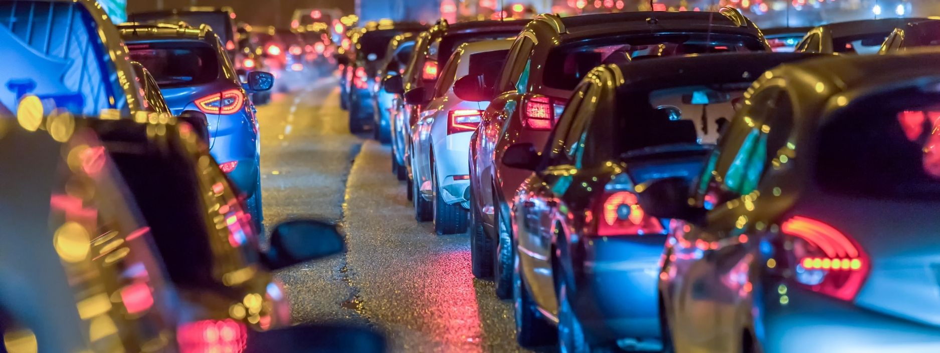 UK Cars at night