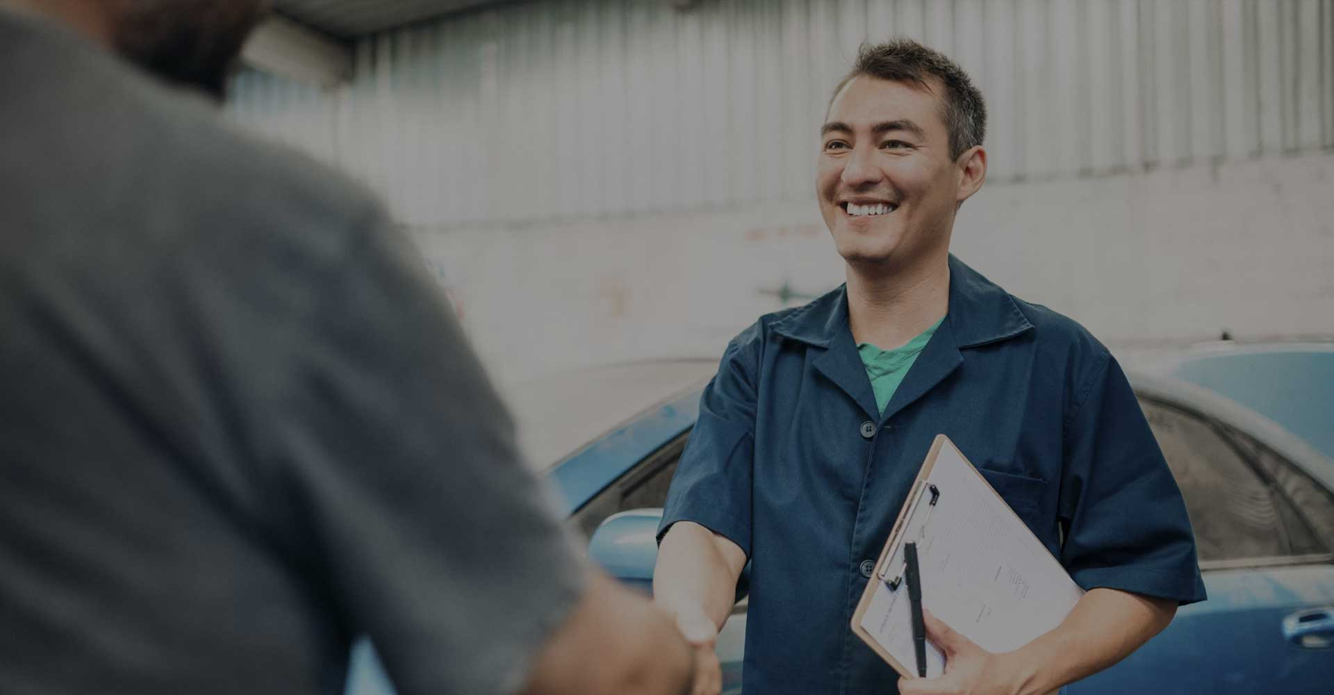 Man buying a vehicle with a failed MOT